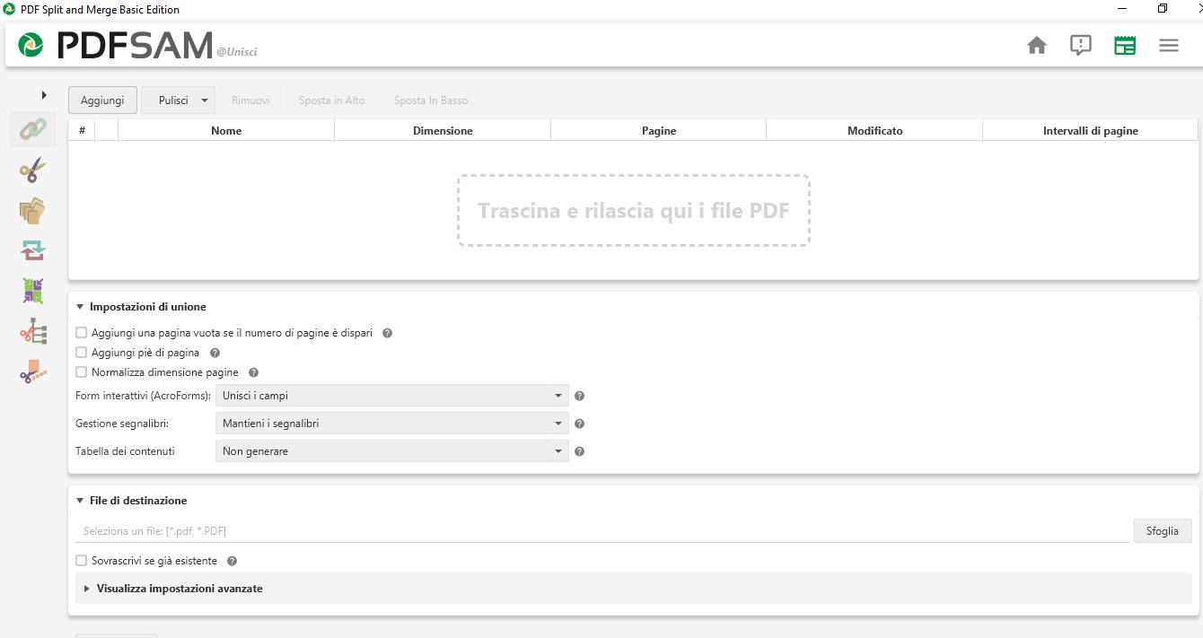 Unire Piu File Download